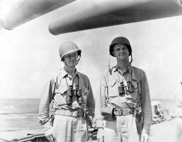 War correspondents who covered fighting from New Mex, later landed