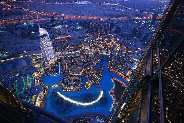 2: Dubai, UAE. Latest ranking: 74; Ranking five years ago: 88; Five-year index movement: 4.6%. Here: The observation deck at the Burj Khalifa, the tallest building in the world. (Photo by Die Bildagentur der Fotografen GmbH/Alamy Stock Photo)