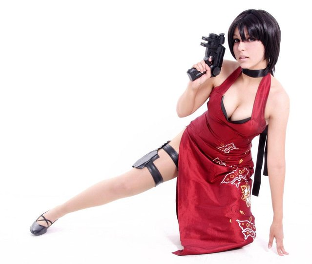 Ada Wong Cosplay. (Photo by Gabriela Almeida)