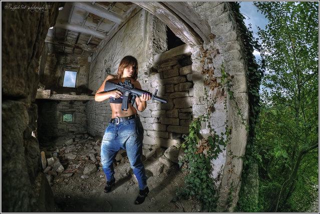 """The sentinel"". (Photo by Raffaele Preti)"