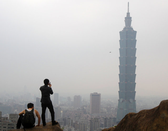 6: The Taipei 101 in Taiwan. Height: 1,671 ft. (Photo by Pichi Chuang/Reuters)