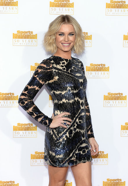 Actress Rebecca Romijn attends NBC and Time Inc. celebrate the 50th anniversary of the Sports Illustrated Swimsuit Issue at Dolby Theatre on January 14, 2014 in Hollywood, California. (Photo by Dimitrios Kambouris/Getty Images)