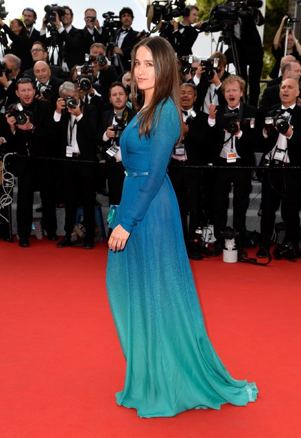 """Marie Gillain attends the opening ceremony and premiere of """"La Tete Haute"""" (Standing Tall) during the 68th annual Cannes Film Festival on May 13, 2015 in Cannes, France. (Photo by Pascal Le Segretain/Getty Images)"""