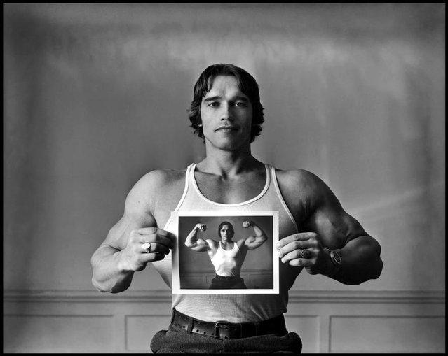 Vintage Photo Of Arnold Schwarzenegger