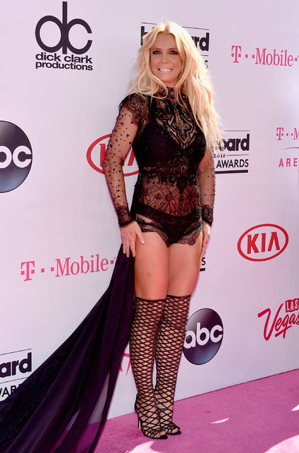 Singer Britney Spears attends the 2016 Billboard Music Awards at T-Mobile Arena on May 22, 2016 in Las Vegas, Nevada. (Photo by David Becker/Getty Images)