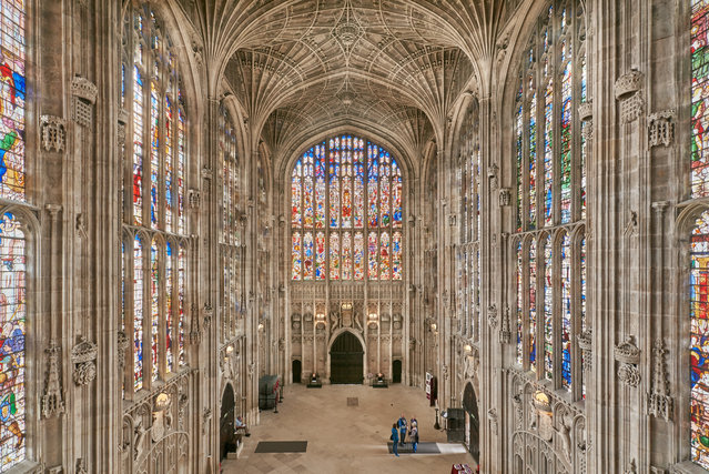 Shortlisted: King's College chapel, University of Cambridge, England by Sara Rawlinson. (Photo by Sara Rawlinson/Historic Photographer of the Year Awards 2019/The Guardian)