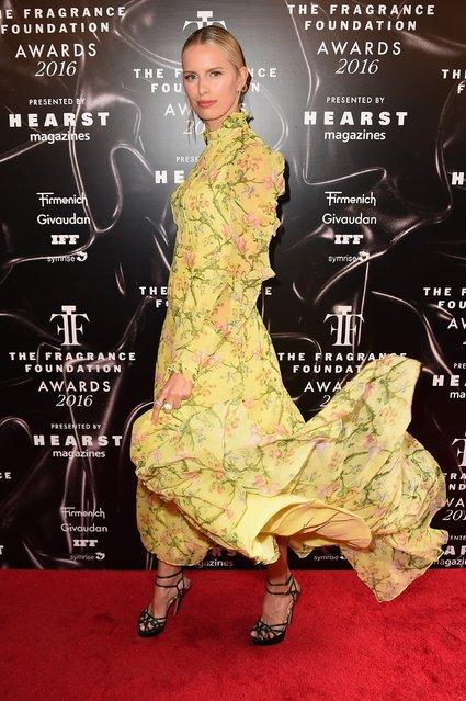 Model Karolina Kurkova attends the 2016 Fragrance Foundation Awards presented by Hearst Magazines on June 7, 2016 in New York City. (Photo by Nicholas Hunt/Getty Images Fragrance Foundation)