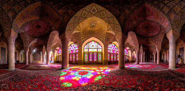 Nasir al-Mulk Mosque in Iran. (Photo by Mohammad Reza Domiri Ganj)
