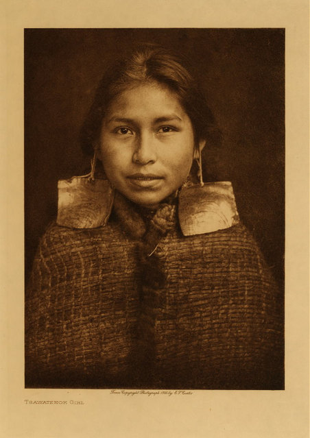 A Tsawatenok girl in 1914. (Photo by Edward S. Curtis)
