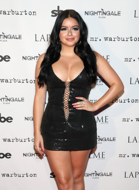 Actress Ariel Winter attends LaPalme Magazine fall cover party at Nightingale Plaza on November 8, 2017 in Los Angeles, California. (Photo by Jerritt Clark/Getty Images)