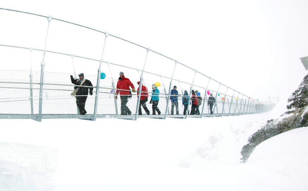 The Titlis Cliff Walk