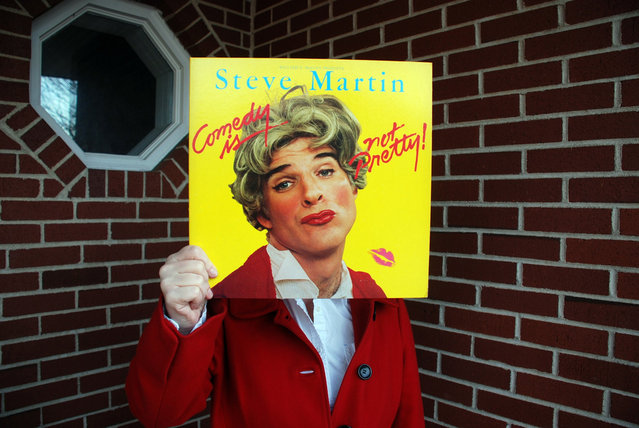 """Steve Martin, Comedy Is Not Pretty"". (Peter J. Rockwell)"