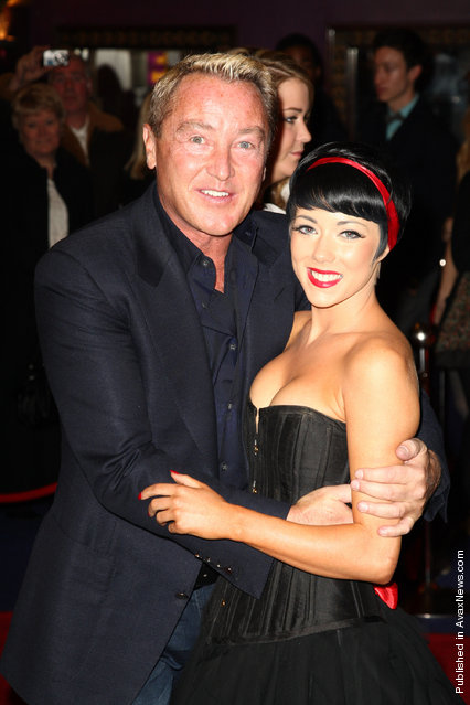 Michael Flatley attends the premiere of Lord Of The Dance 3D