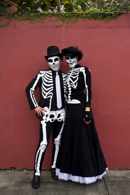 """The Skeleton Krewe 2013 – M. and M."" (Kevin O'Mara)"