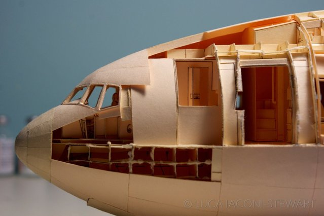 Realistic Paper Boeing 777 By Luca Laconi Stewart