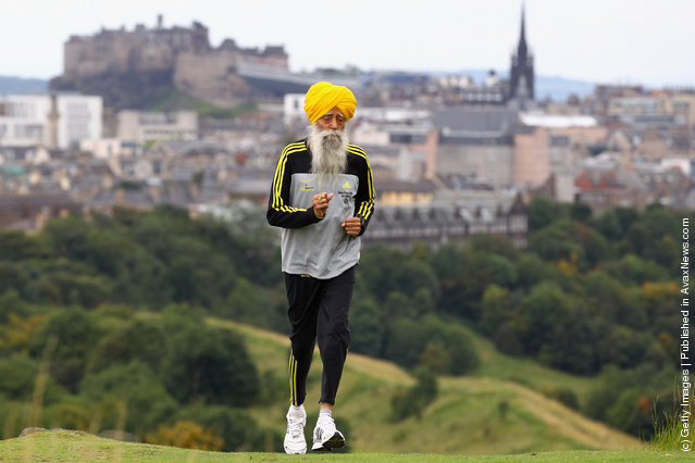 World's Oldest Marathon Runner