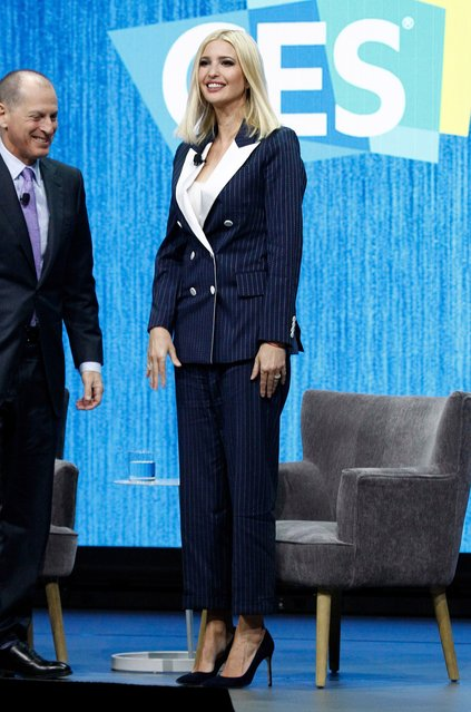 Ivanka Trump at the 2020 CES International held at the Sands Convention Center on January 7, 2020 in Las Vegas, NV. (Photo by JPA/AFF-USA.com/The Mega Agency)