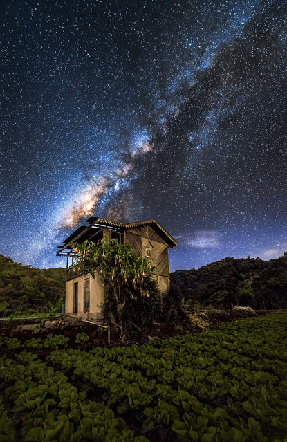 Some of Steves other night sky photography - Cameron Highlands – Malaysia. (Photo by Steve Lance Lee/Caters News)