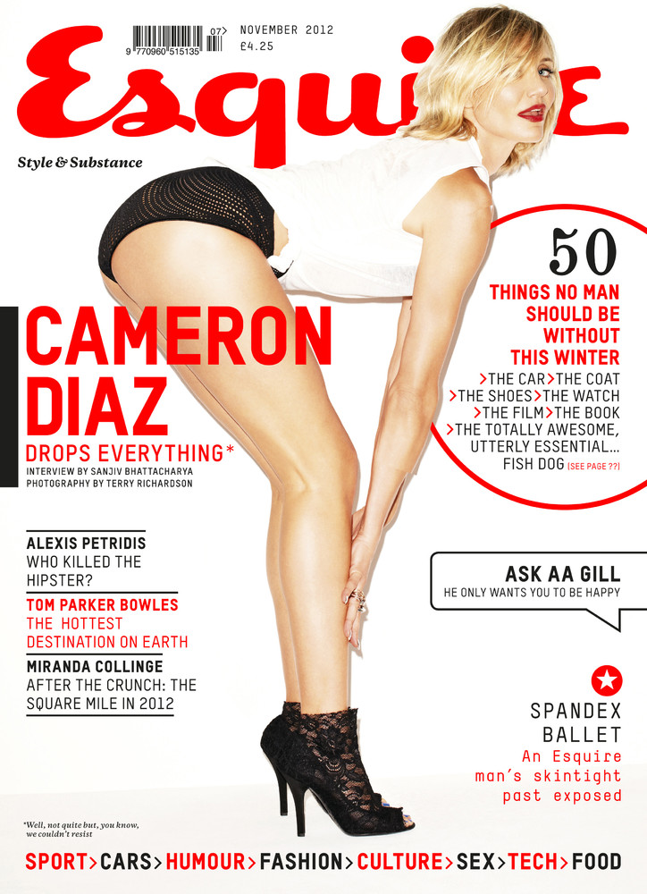 """Cameron Diaz: First Look"" (Esquire UK November 2012 Photoshoot)"