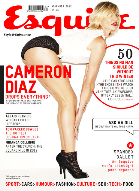 s*xy Cameron Diaz: First Look (Esquire UK November 2012