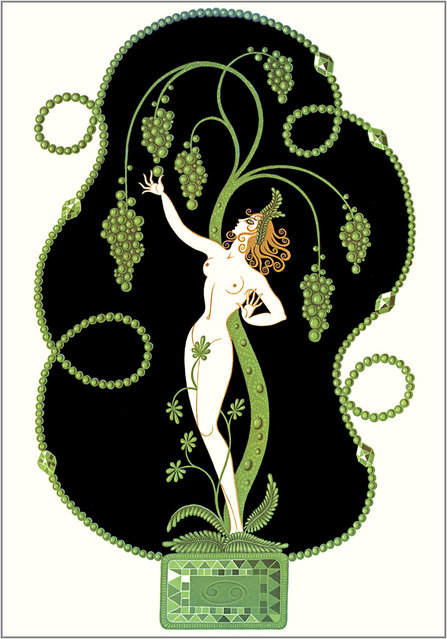 Romain de Tirtoff (Erte) – The Precious Stones: Emerald