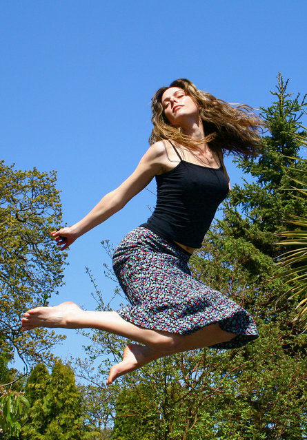 """Jumpology"". ""Freedom"". (Photo by McNeney)"