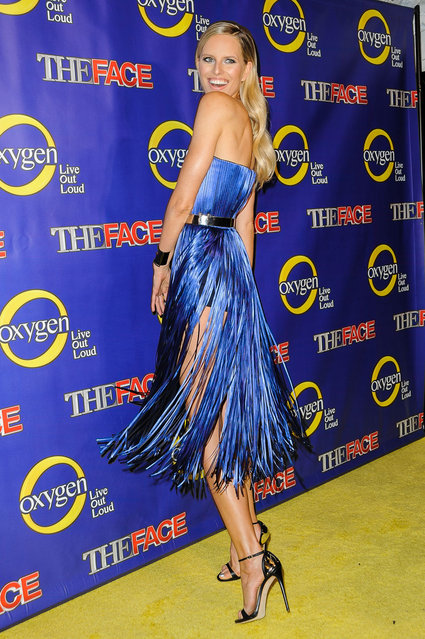 """Model Karolina Kurkova attends """"The Face"""" Series Premiere at Marquee New York on February 5, 2013 in New York City. (Photo by Dave Kotinsky)"""