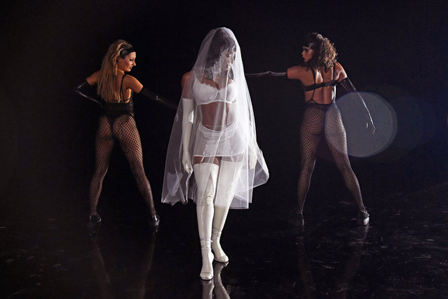 In this image released on October 1, Normani is seen onstage during Rihanna's Savage X Fenty Show Vol. 2 presented by Amazon Prime Video at the Los Angeles Convention Center in Los Angeles, California; and broadcast on October 2, 2020. (Photo by Kevin Mazur/Getty Images for Savage X Fenty Show Vol. 2 Presented by Amazon Prime Video)