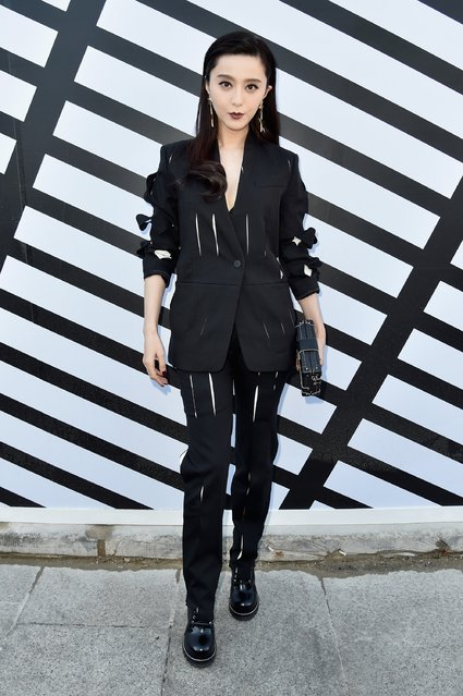 Fan Bingbing attends the Louis Vuitton show as part of the Paris Fashion Week Womenswear Spring/Summer 2017  on October 5, 2016 in Paris, France. (Photo by Pascal Le Segretain/Getty Images)