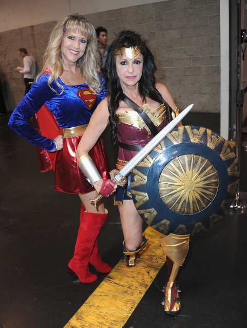 Cosplayers attend Day 1 of WonderCon held at Anaheim Convention Center on March 23, 2018 in Anaheim, California. (Photo by Albert L. Ortega/Getty Images)