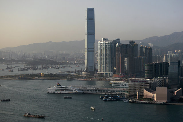 8: Hong Kong's International Commerce Center. Height: 1,588 ft. (Photo by Tyrone Siu/Reuters)