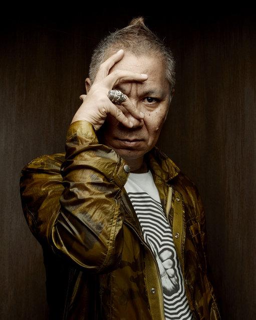 Takashi Miike. (Photo by Denis Rouvre)