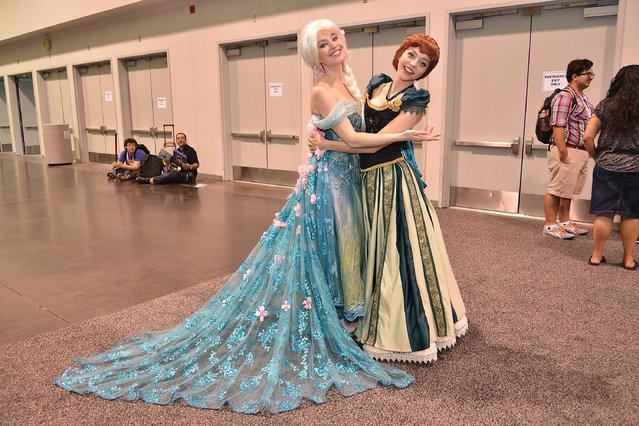 A costumed guest attends WonderCon Anaheim 2015 at Anaheim Convention Center on April 4, 2015 in Anaheim, California. (Photo by Araya Diaz/WireImage)