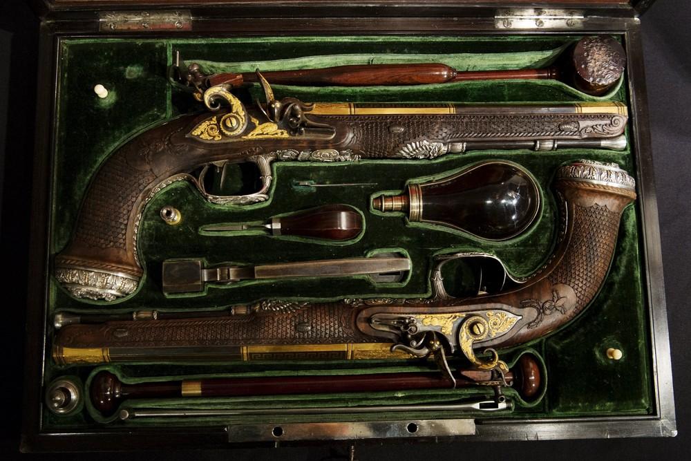 Simon Bolivar's 19th-century Pistols