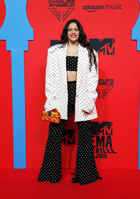 Rosalia attends the MTV EMAs 2019 at FIBES Conference and Exhibition Centre on November 03, 2019 in Seville, Spain. (Photo by Europa Press Entertainment/Europa Press via Getty Images)