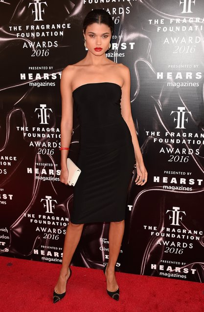 Model Daniela Braga attends the 2016 Fragrance Foundation Awards presented by Hearst Magazines on June 7, 2016 in New York City. (Photo by Nicholas Hunt/Getty Images Fragrance Foundation)