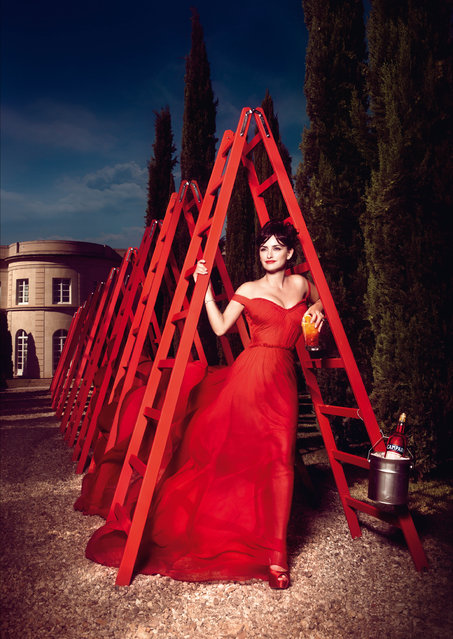 Penelope Cruz in the Campari 2013 Calendar by Kristian Schuller