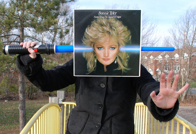 """""""Bonnie Tyler, Faster Than the Speed of Night"""". (Peter J. Rockwell)"""
