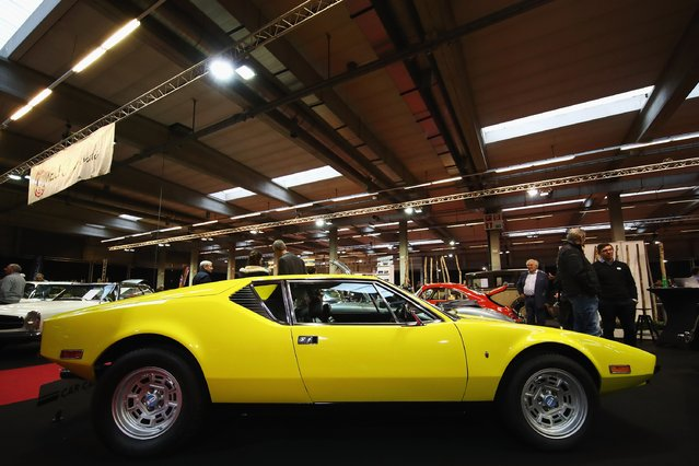 A general view of 1974 Detomaso Pantera L Coupe V8 during the The 40th Antwerp Classic Salon run by SIHA Salons Automobiles and held at Antwerp EXPO Halls on March 3, 2017 in Antwerpen, Belgium. (Photo by Dean Mouhtaropoulos/Getty Images)