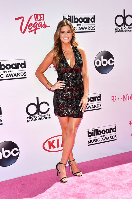 TV personality JoJo Fletcher attends the 2016 Billboard Music Awards at T-Mobile Arena on May 22, 2016 in Las Vegas, Nevada. (Photo by David Becker/Getty Images)