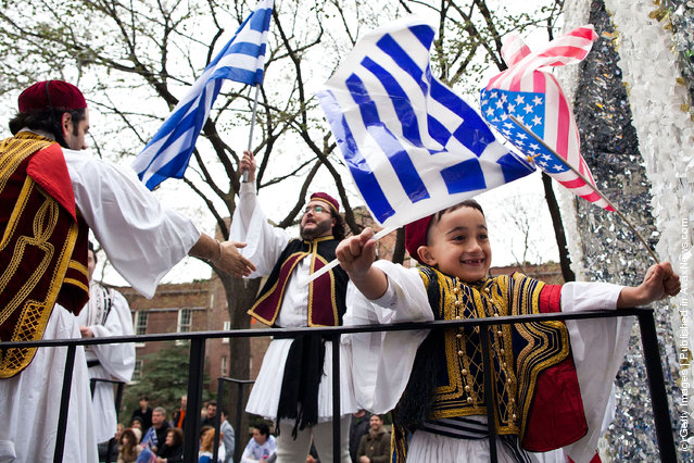 Hellenic Pride On Display At NYC's Annual Greek Independence Day Parade