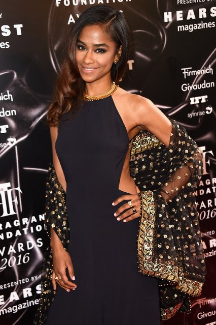 Vashtie Kola attends the 2016 Fragrance Foundation Awards presented by Hearst Magazines on June 7, 2016 in New York City. (Photo by Nicholas Hunt/Getty Images Fragrance Foundation)