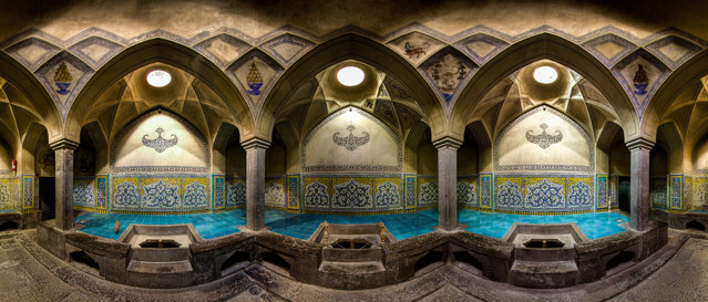 Inside the historical Aliqoliagha bath in Isfahan, Iran. (Photo by Mohammad Reza Domiri Ganj)