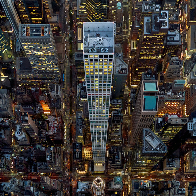 432 Park Avenue, New York. The 425.5-metre-high skyscraper, which cost $1.25bn to build, is the tallest residential building in the world. (Photo by Jeffrey Milstein/The Guardian)