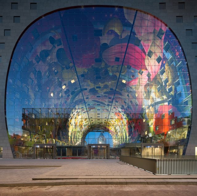 New Icon Of Rotterdam - Markthal Rotterdam