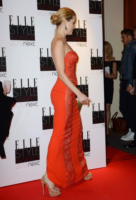Kate Hudson attends The Elle Style Awards 2013 at The Savoy Hotel on February 11, 2013 in London, England. (Photo by Dave J Hogan)