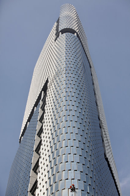 11: The Nanjing Greenland Center in China. Height: 1,476 ft. (Photo by Aly Song/Reuters)