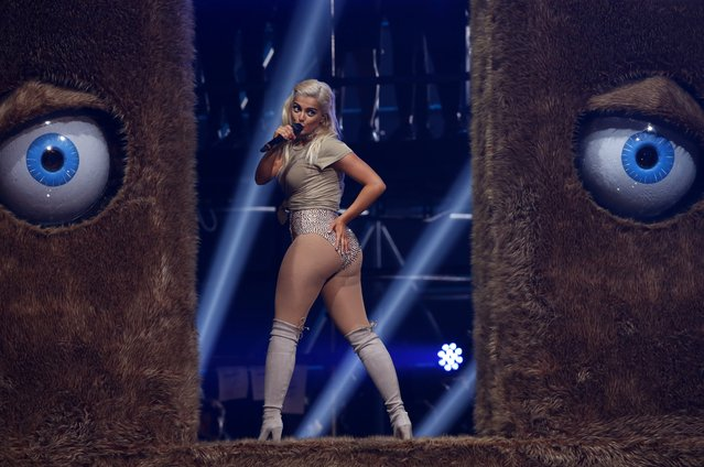 Presenter Bebe Rexha performs, during the MTV European Music Awards 2016, in Rotterdam, Netherlands, Sunday, November 6, 2016. (Photo by Peter Dejong/AP Photo)