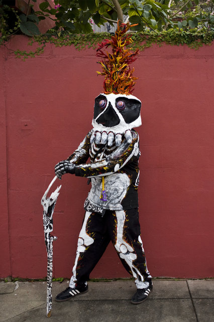 """The Skeleton Krewe 2013 – Jawbone"". (Kevin O'Mara)"