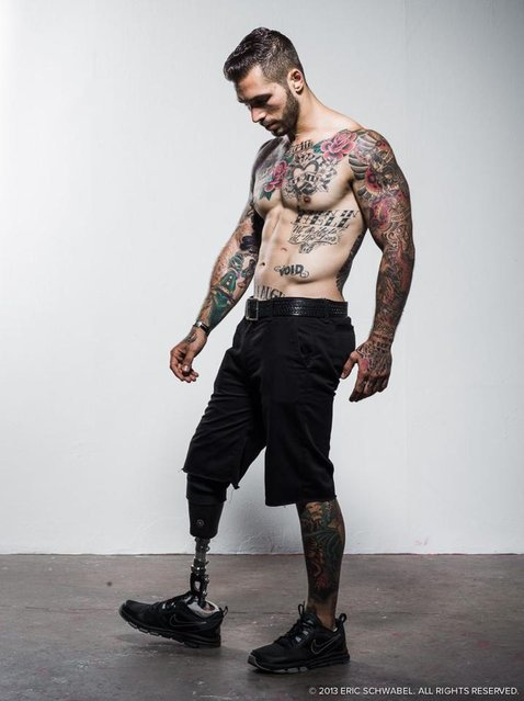 Alex Minsky Marine Who Lost A Leg And Gained A Modeling Career